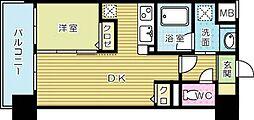 ルネッサンス21小倉東[402号室]の間取り