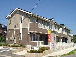 新潟県村上市下相川の賃貸アパートの外観