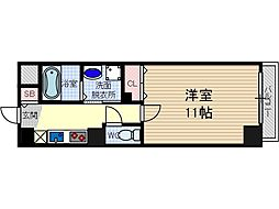 フジロイヤルローズコート[7階]の間取り