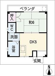 第2小崎ビル[2階]の間取り