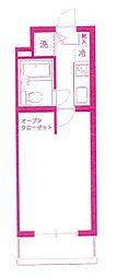 ティアレ宮崎台[2階]の間取り