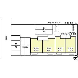 Park&HouseII(パークアンドハウスツウ)[1階]の外観