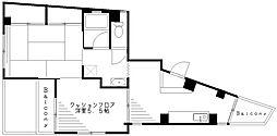 小野寺マンション[4階]の間取り