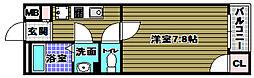 レオネクストアズール茱萸木[1階]の間取り