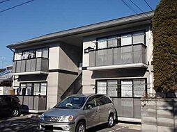 長野県長野市三輪1丁目の賃貸アパートの外観