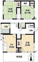 [一戸建] 東京都世田谷区深沢7丁目 の賃貸【/】の間取り