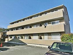 滋賀県湖南市石部西3丁目の賃貸アパートの外観