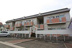 宮城県仙台市青葉区滝道の賃貸アパートの外観