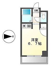 ドール六番町[5階]の間取り