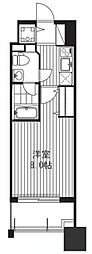 プラウドフラット新大阪[9階]の間取り