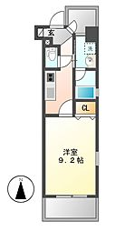CHIKUSA AVANT-GARDE PLEACE[8階]の間取り