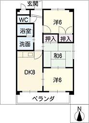 WILLFUJIWARA[3階]の間取り
