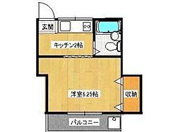 セゾン高幡[2階]の間取り