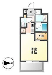 CELESTATION(セレステーション)[2階]の間取り