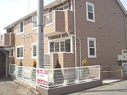 神奈川県厚木市関口の賃貸アパートの外観