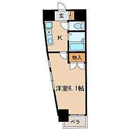 エスポワ-ルベルズ[2階]の間取り