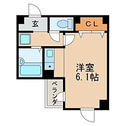 アウローラブルク[2階]の間取り