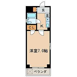 Stage泉[4階]の間取り