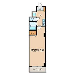 プロビデンス泉玉[6階]の間取り