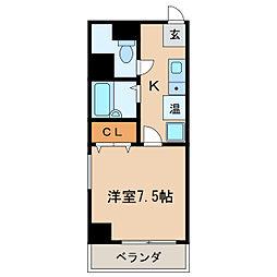 AZUR TORII[2階]の間取り