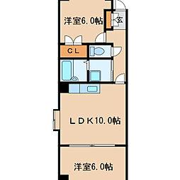 リム・ファーストビル[8階]の間取り