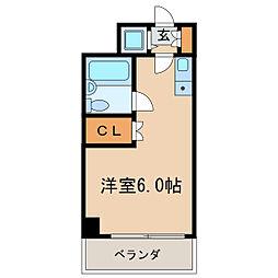 新栄アネックス[4階]の間取り
