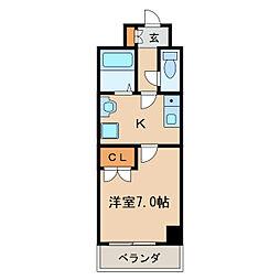 グランデ泉[7階]の間取り