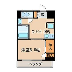 ケイポイントビル[8階]の間取り