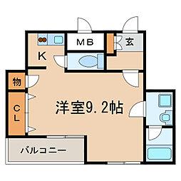 Fible SAKAE[4階]の間取り