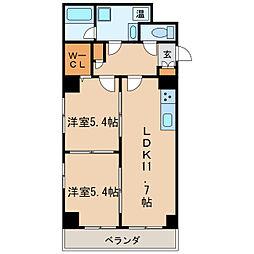 Fible SAKAE[7階]の間取り