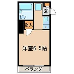 マンションAA[2階]の間取り
