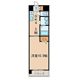 パレスサイド泉[9階]の間取り