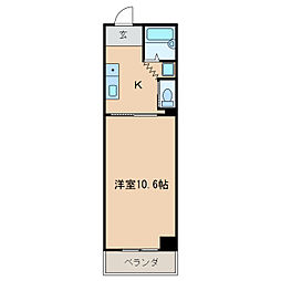 HOUSE108泉[4階]の間取り