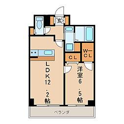 ABCサクラガーデン[3階]の間取り