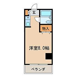 ラフィネ新栄[7階]の間取り