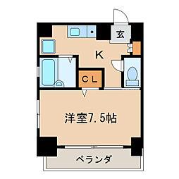 ANNEX・IZUMI[3階]の間取り
