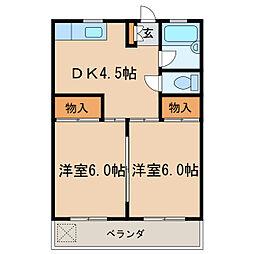 大信ビル[2階]の間取り