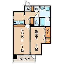 東桜コート[5階]の間取り
