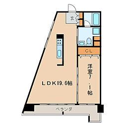 レジディア東桜II[8階]の間取り