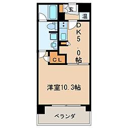 KDXレジデンス東桜II[13階]の間取り