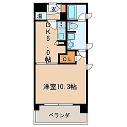 KDXレジデンス東桜II[12階]の間取り