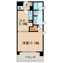 KDXレジデンス東桜2[12階]の間取り