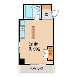 堤ビル[3階]の間取り