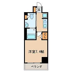 パークアクシス丸の内[6階]の間取り