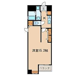 レベント泉[5階]の間取り