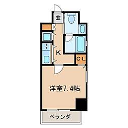 izumi[3階]の間取り