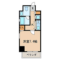 izumi[2階]の間取り
