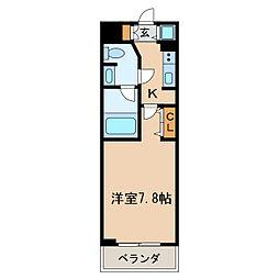 プライムアーバン泉[6階]の間取り