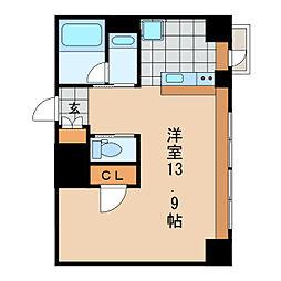 KDXレジデンス東桜I[12階]の間取り