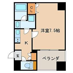 APEX名古屋栄Premier Life[6階]の間取り